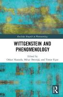 Wittgenstein and Phenomenology