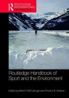 Routledge Handbook of Sport and the...