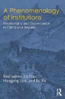 A Phenomenology of Institutions:...