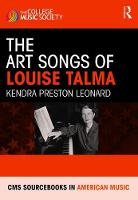 The Art Songs of Louise Talma