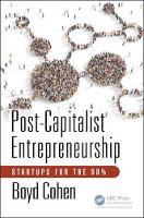 Post-Capitalist Entrepreneurship:...