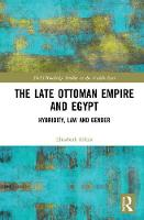The Late Ottoman Empire and Egypt:...
