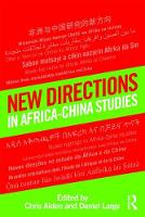 New Directions in Africa-China Studies
