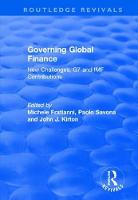 Governing Global Finance: New...