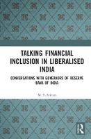 Talking Financial Inclusion in...