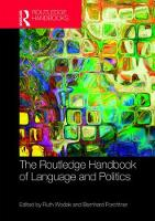 The Routledge Handbook of Language ...