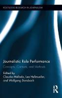 Journalistic Role Performance:...