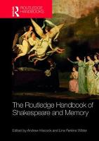 The Routledge Handbook of Shakespeare...
