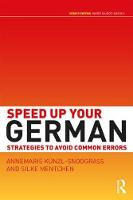 Speed up your German: strategies to...