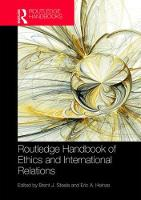 Routledge Handbook of Ethics and...