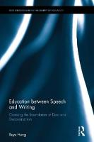 Education between Speech and Writing:...
