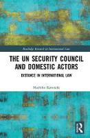 The UN Security Council and Domestic...