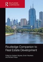 Routledge Companion to Real Estate...
