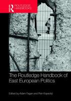 The Routledge Handbook of East...