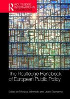 The Routledge Handbook of European...