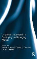 Corporate Governance in Developing ...