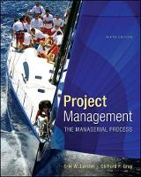 Project Management: the Managerial...