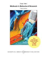ISE METHODS IN BEHAVIORAL RESEARCH