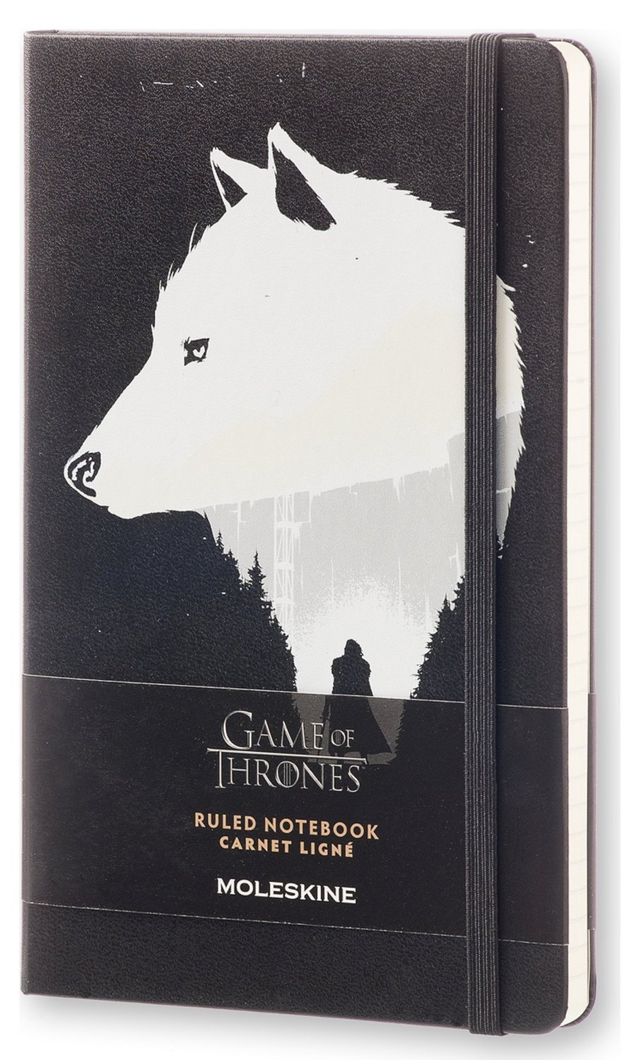 Game Of Thrones Jon Snow Large Notebook