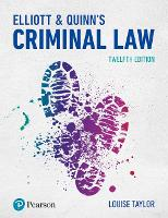 Elliott & Quinn's Criminal Law