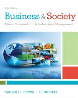 Business & Society: Ethics,...