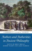 Authors and Authorities in Ancient...
