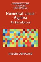 Numerical Linear Algebra: An...