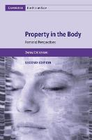 Property in the Body: Feminist...