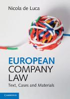European Company Law: Text, Cases and...