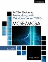 MCSA Guide to Networking with Windows...