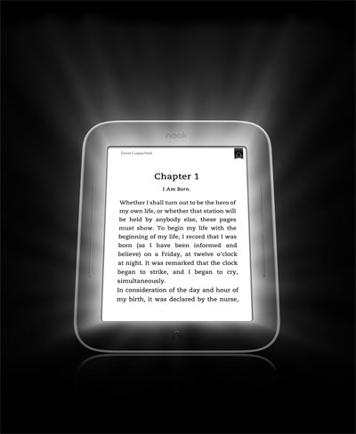 NOOK® Simple Touch GlowLight™ eReader