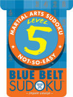Level 5 Blue Belt Sudoku
