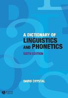 A Dictionary of Linguistics and...