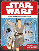 Star Wars Rey's Adventure Sticker Book