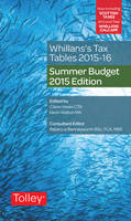 Whillans's Tax Tables 2015-16: 2015-16