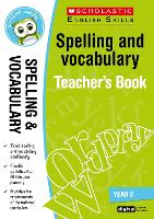 Spelling and Vocabulary Teacher's ...