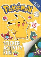 The Official Pokemon Sticker Activity...