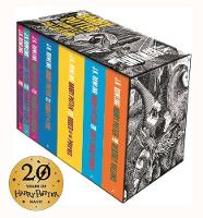 Harry Potter Complete Paperback Boxed...