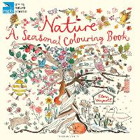 RSPB Nature: A Seasonal Colouring Book