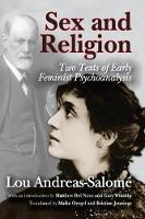 Sex and Religion: Two Texts of Early...