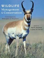 Wildlife Management and Conservation:...