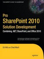 Pro SharePoint 2010 Solution...