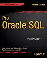 Pro Oracle SQL: 2013
