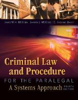 Criminal Law and Procedure for the...
