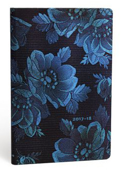 2018 Maxi Blue Muse 18 Month Diary