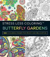 Stress Less Coloring Butterfly...