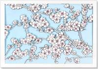Cherry Blossoms Laser Cut Boxed Note...
