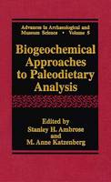 Biogeochemical Approaches to...