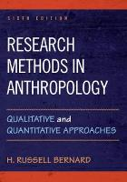 Research Methods in Anthropology:...