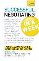 Teach Yourself Successful Negotiating...